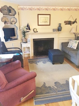 Dennis Port Cape Cod vacation rental - Family room after a day enjoying everything Cape Cod!