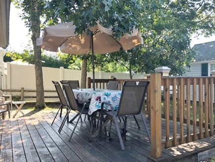 Dennis Port Cape Cod vacation rental - Relax on the deck