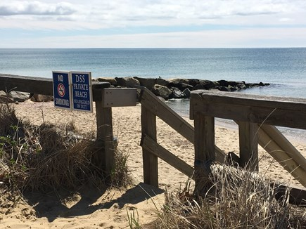 Dennis Port Cape Cod vacation rental - Stairs to Dennis Seashores' large Private Beach!