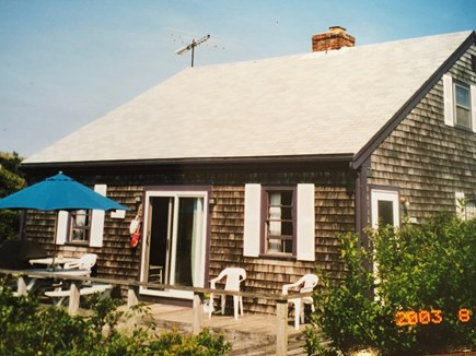 Wellfleet, Lieutenant Island Cape Cod vacation rental - Enjoy the deck with great views