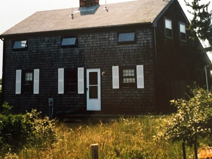 Wellfleet, Lieutenant Island Cape Cod vacation rental - Back of house