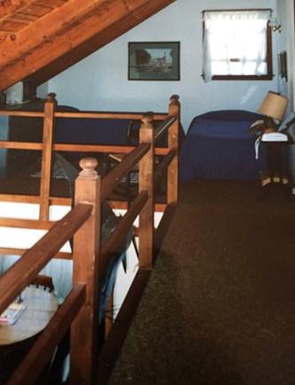 Wellfleet, Lieutenant Island Cape Cod vacation rental - The loft, sleeps three. There are also 2 bedrooms off the loft.