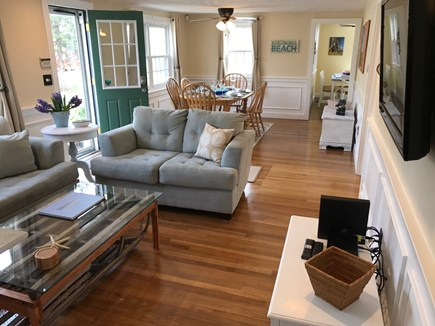 South Yarmouth Cape Cod vacation rental - Open floor plan, bright interior, hardwood floors throughout