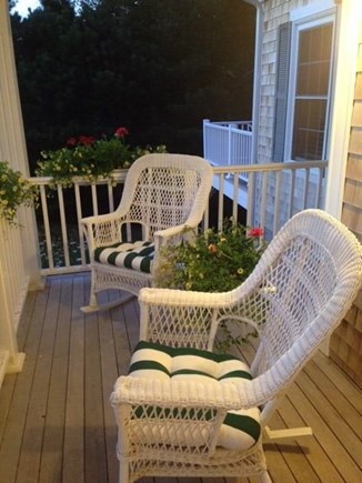 Brewster Cape Cod vacation rental - Relaxing Front Porch