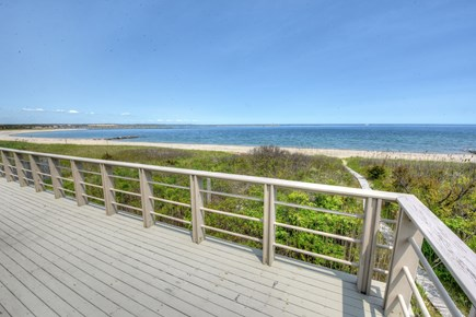 Sandwich Cape Cod vacation rental - Ocean views over Cape Cod Bay from upper level deck.