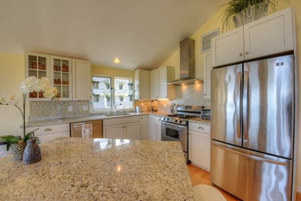 Sandwich Cape Cod vacation rental - Upscale Kitchen fully furnished for cooking.