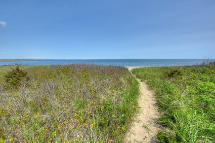 Sandwich Cape Cod vacation rental - Pathway through the dunes to the beach.