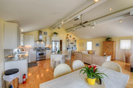 Sandwich Cape Cod vacation rental - Looking back at the Kitchen from Dining area.