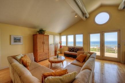 Sandwich Cape Cod vacation rental - Open floor plan on upper level .