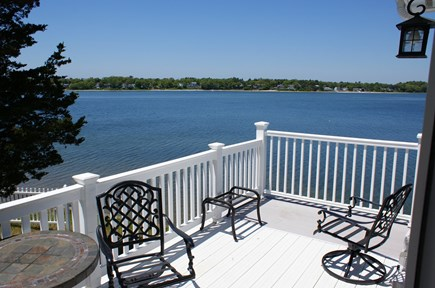 Bourne, Buzzards Bay Cape Cod vacation rental - Spectacular views from the deck.