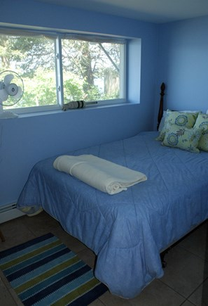 Bourne, Buzzards Bay Cape Cod vacation rental - BDRM 4 on lower level with Double.