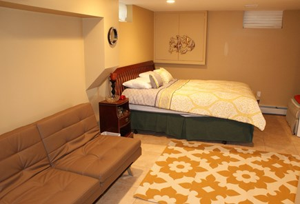 Bourne, Buzzards Bay Cape Cod vacation rental - BDRM 3 on lower level with Queen and Double Futon.