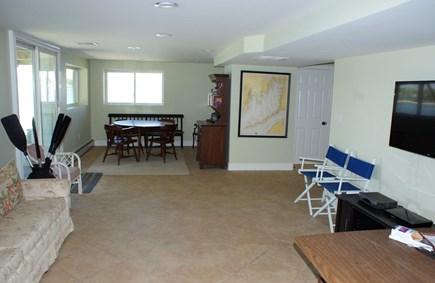 Bourne, Buzzards Bay Cape Cod vacation rental - Lower level Den.