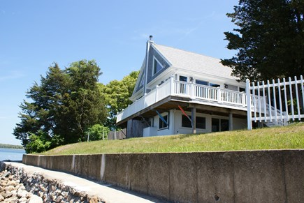 Bourne, Buzzards Bay Cape Cod vacation rental - House overlooks Buttermilk Bay.