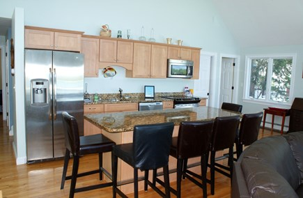 Bourne, Buzzards Bay Cape Cod vacation rental - Kitchen with Dining counter