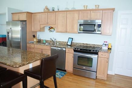 Bourne, Buzzards Bay Cape Cod vacation rental - Upscale appliances and granite counters.