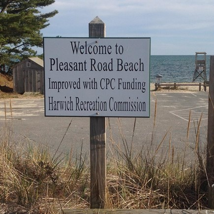West Harwich Cape Cod vacation rental - Pleasant Rd Beach - a great family beach just a 7 minute walk