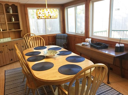 West Harwich Cape Cod vacation rental - Sun Drenched Dining Area