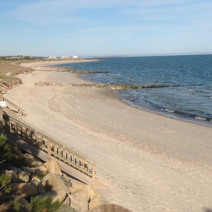 West Harwich Cape Cod vacation rental - Nantucket Sound at Gray Neck Beach just a 3 minute stroll