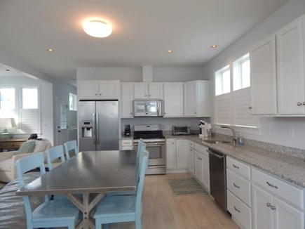 Dennis Port Cape Cod vacation rental - Kitchen and dinning table