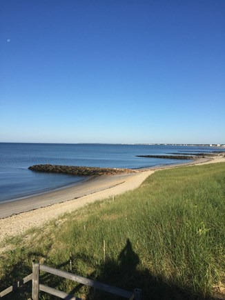 Dennis Port Cape Cod vacation rental - Our 600 feet of private beach is cleared of any seaweed daily