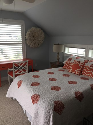 Dennis Port Cape Cod vacation rental - Upstairs guest bedroom with queen bed and balcony
