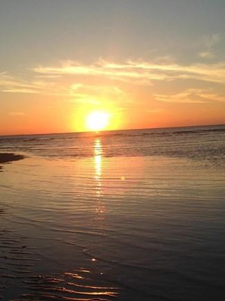 East Dennis Cape Cod vacation rental - Sunset at Mayflower Beach