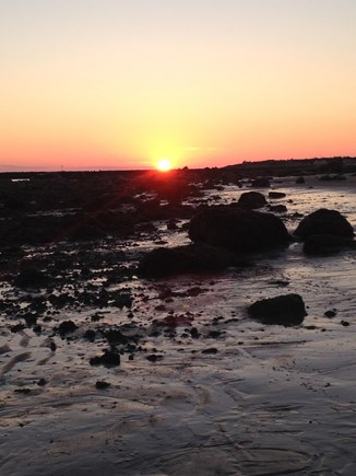 East Dennis Cape Cod vacation rental - Sunrise at Town Way access about 1/2 mile walk from the cottage