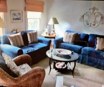 East Dennis Cape Cod vacation rental - Spacious comfortable living room