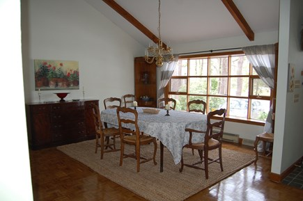 East Sandwich Cape Cod vacation rental - Dining area