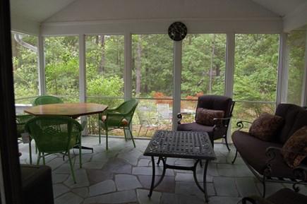 East Sandwich Cape Cod vacation rental - Screened patio
