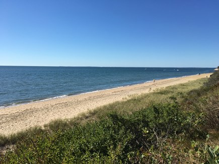 Mashpee, Popponesset Cape Cod vacation rental - Beach to right of steps