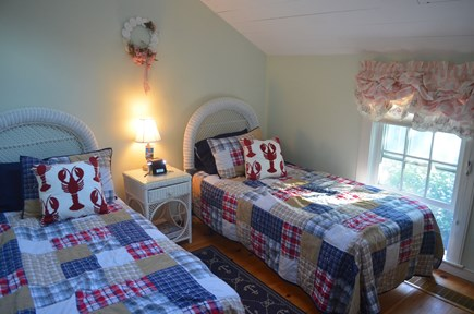 Mashpee, New Seabury, Maushop Village Cape Cod vacation rental - Second bedroom, two twin beds.