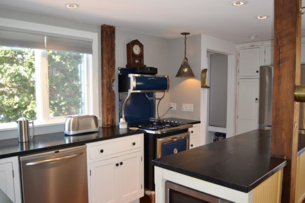 wellfleet Cape Cod vacation rental - 1st Floor Kitchen—Heartland Dual Fuel Cookstove