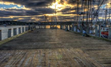 wellfleet Cape Cod vacation rental - Wellfleet Harbor Fishing Boats