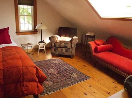 wellfleet Cape Cod vacation rental - Antique Garret 2nd Floor Bedroom With Fainting Couch