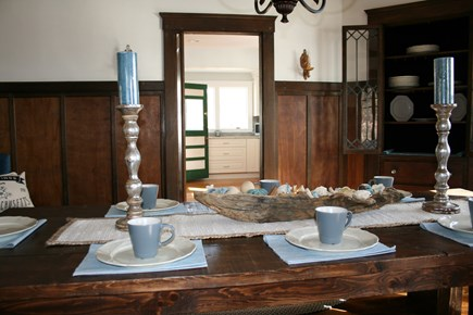 Bourne, Buzzards Bay Cape Cod vacation rental - Dining room 1