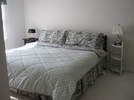 Brewster Cape Cod vacation rental - Spacious second floor King bedroom has Cable TV & Pack & Play