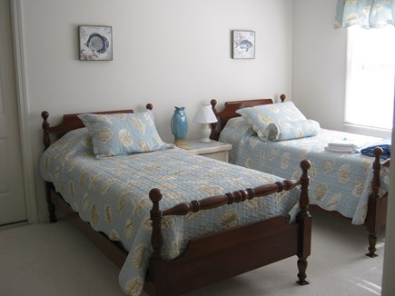 Brewster Cape Cod vacation rental - Second floor twin bedroom has TV and children's videos too.