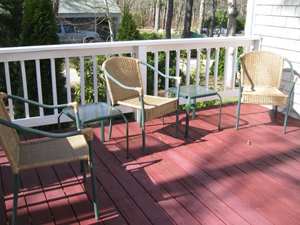 Brewster Cape Cod vacation rental - Deck furniture set and umbrella included