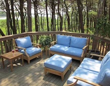 Wellfleet Cape Cod vacation rental - Deck with marsh view