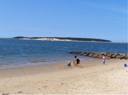 Wellfleet Cape Cod vacation rental - Cape Cod Bay beach five minutes walk from house