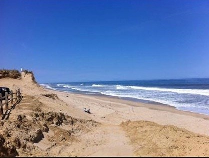 Wellfleet Cape Cod vacation rental - Ocean Beach three mile drive from house