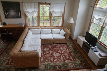 West Dennis Cape Cod vacation rental - Living Room with TV
