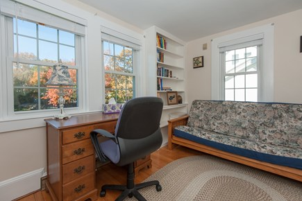 Bourne, Buzzards Bay Cape Cod vacation rental - Futon and sitting area (which can be closed off for privacy)