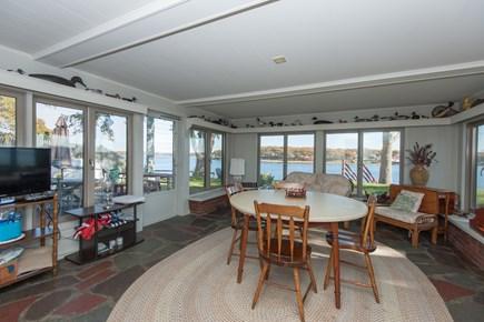Bourne, Buzzards Bay Cape Cod vacation rental - Enclosed porch