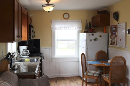 Truro Cape Cod vacation rental - Kitchen with dining for four