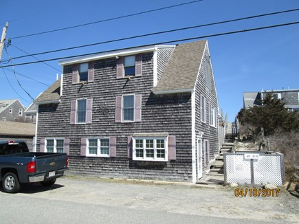 Sandwich, East Sandwich Beach Cape Cod vacation rental - Front of building with stairs to beach