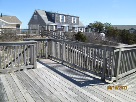 Sandwich, East Sandwich Beach Cape Cod vacation rental - Spacious, comfortable deck