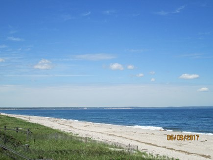 Sandwich, East Sandwich Beach Cape Cod vacation rental - Northern beach view toward Plymouth.